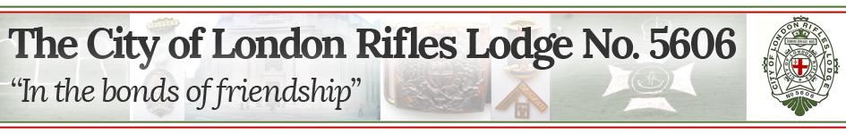 The City of London Rifles Lodge No. 5606